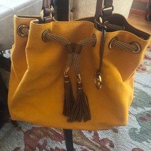 MK canvas bag
